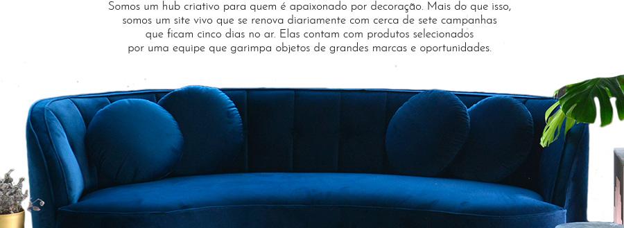 Sofá azul Westwing   Westwing.com.br