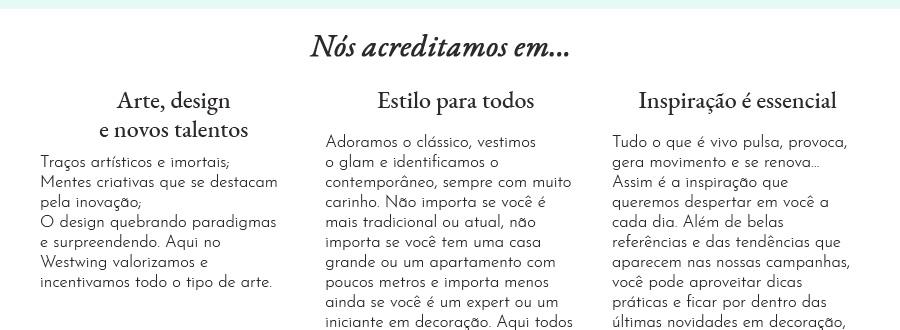 Quem Somos   Nosso Modelo de Negócios   Westwing.com.br
